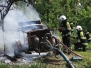 Waterpomp afgebrand in boomgaard